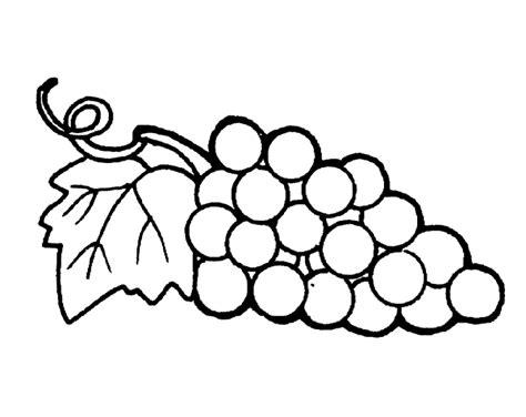 Ausmalbilder Von Weintraube Ausdrucken Malvorlagen