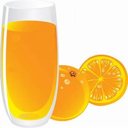 Juice Orange Clipart Clip Fruit Juices Transparent