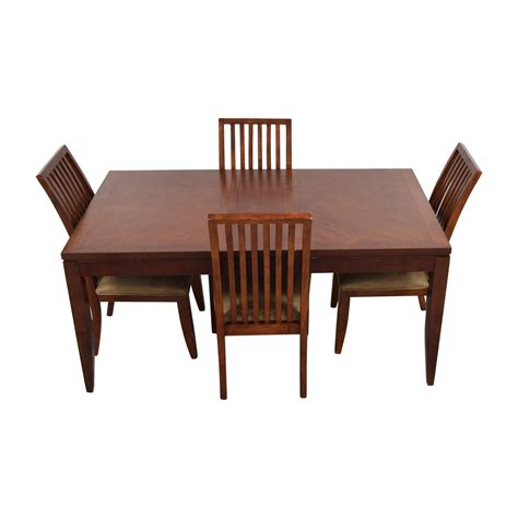 macys kitchen table 74 macy s macy s wood dining set with extendable