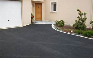 projet d39amenagement d39allee de garage en enrobe noir a With amenagement allee de garage