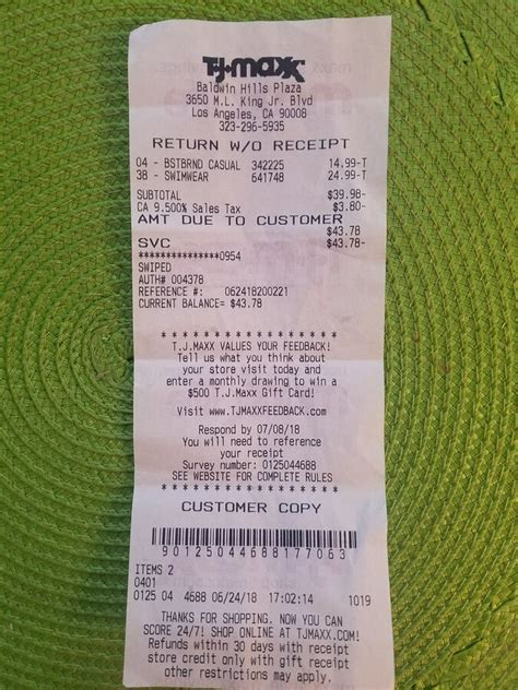 Read this carefully to recover from. TJX / T.J. Maxx - Unethical behaviour, Review 1015727 | ComplaintsBoard