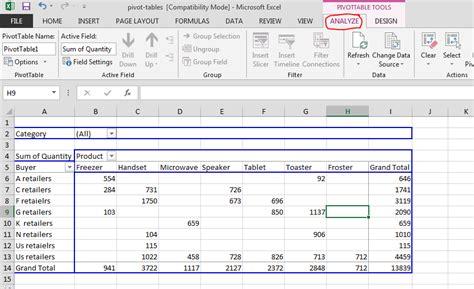 excel pivot table tutorial pivot table excel tutorial excel pivot table tutorial