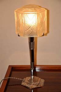 Lampe Art Deco : hettier vincent lampe art deco 1930 ~ Teatrodelosmanantiales.com Idées de Décoration