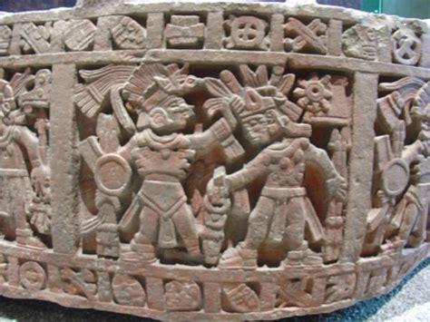 aztec carving photo
