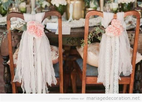 deco chaise mariage chaises décoration mariage site dedié à donner des
