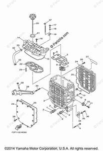 Yamaha Waverunner 2015 Oem Parts Diagram For Oil Cooler