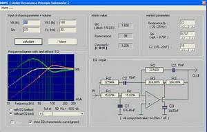 Active Passive Crossover Filter Calculator Program