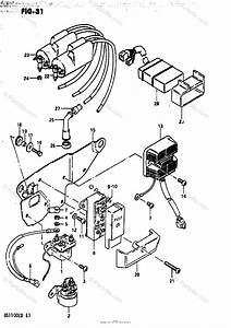 Suzuki Motorcycle 1983 Oem Parts Diagram For Electrical