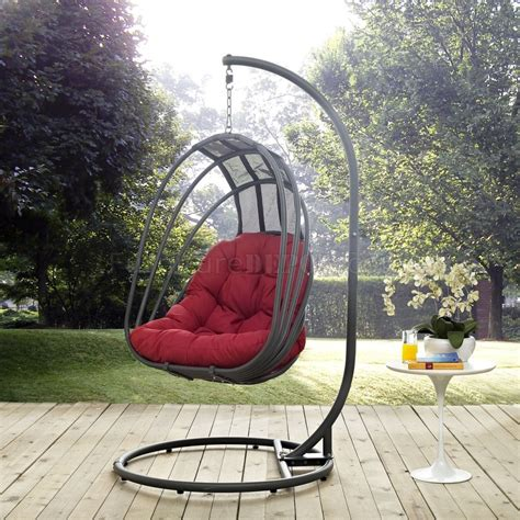 whisk outdoor patio swing chair  modway choice  color