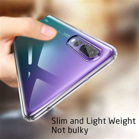 clear transparent silicone slim thin gel case cover