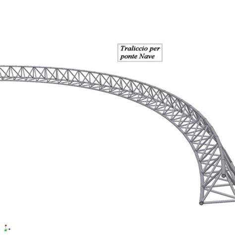 traliccio dwg disegno tecnico e progettazione meccanica