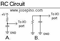 adc without adc jose pino39s projects and tidbits With simple thermometer using rc circuit thorn it solutions