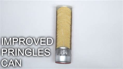 How To Make A Better Pringles Can Youtube