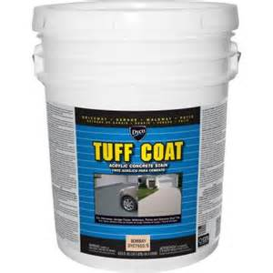 dyco tuff coat 5 gal 7910 bombay low sheen exterior waterborne acrylic concrete stain dyc7910 5