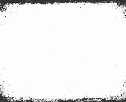 Border Landscape Grunge Transparent Grey Clipart Pikpng
