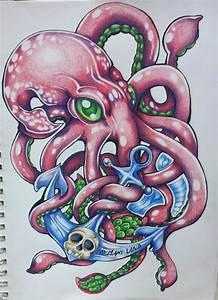 Squid tattoo 4. Better version by ArriGumDrop on DeviantArt