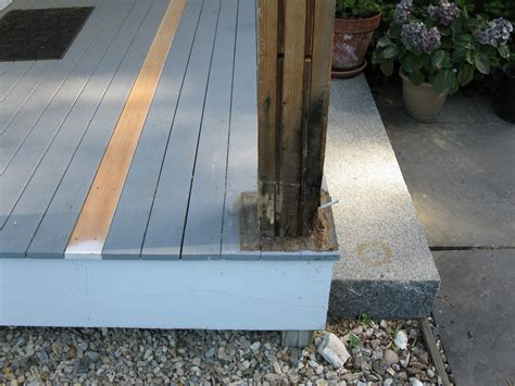 Replacing Porch Columns by How To Replace A Porch Column Base Tcworks Org
