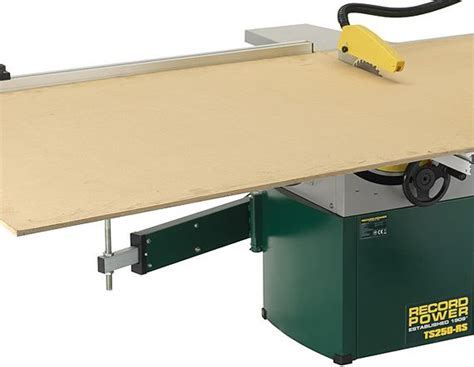 Cabinet Table Saw Uk by Record Power Ts250rs 10 Quot Table Saw With Heavy Duty Sliding