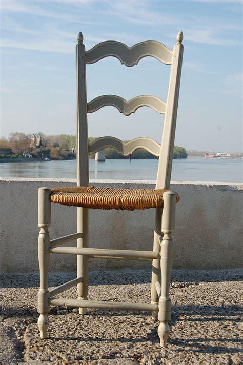 chaise paillée chaise paillée provençale peinte 12 626