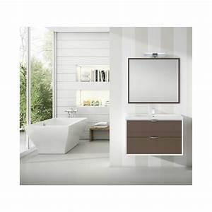 meuble sous vasque suspendu iota 2 tiroirs robinet and co With meuble sous vasque suspendu