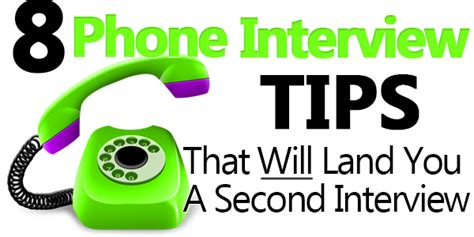 tips for phone interviews 8 phone tips that will land you a second