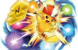 Sun and Moon Pokemon Pikachu Ash Hat