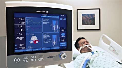 ventilador volumetrico portatil adulto neonatal hamilton