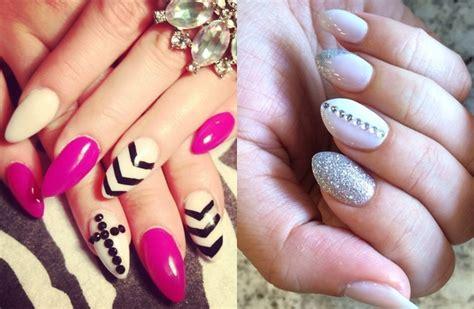 Bespoke Almond Shaped Nails