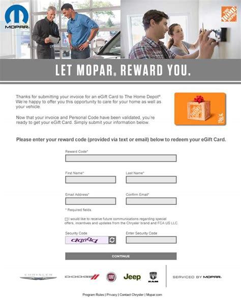 Chrysler Rewards by Mopar Fandango Rewards