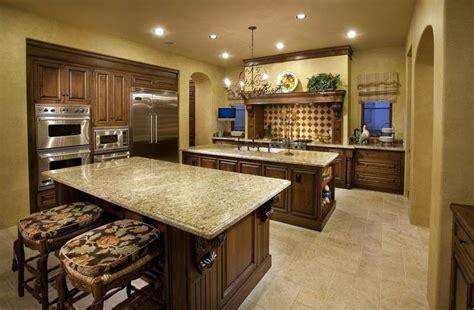 yellow kitchen floor 29 tuscan kitchen ideas decor designs 1218