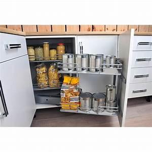 Meuble Rangement Cuisine : rangement placard cuisine leroy merlin ~ Melissatoandfro.com Idées de Décoration