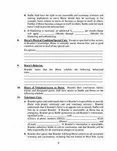 boarder agreement template 28 images lease agreement With boarder agreement template