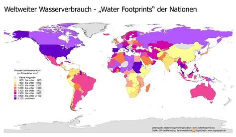 wasserverbrauch deutschland 2016 weltweiter wasserverbrauch pro kopf weltweit wasser statistik verbrauch