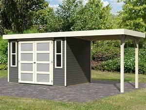 Gartenhaus Mit 2 Eingängen : gartenhaus sparset m nster 19 mm terragrau inkl schleppdach 761052 ~ Sanjose-hotels-ca.com Haus und Dekorationen