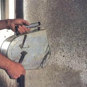 comment faire un enduit de mortier de ciment With comment faire un crepis interieur