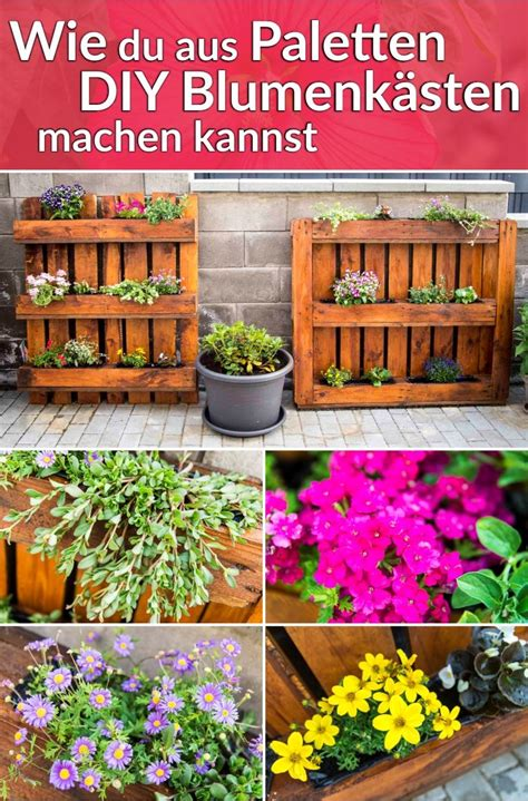 Möbel Paletten Anleitung by Blumenkasten Aus Paletten Anleitung Blumenkasten Aus