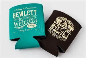 koozies for weddings hewlett wedding koozies choctaw print services