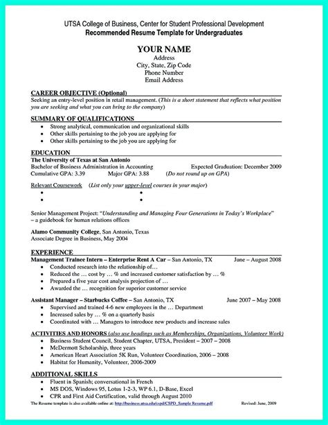 Sle College Resume by 11 12 Entry Level College Student Resume Sles