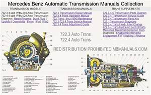 Mercedes 107 722 3 722 4 Transmission Service  U0026 Repair Manuals