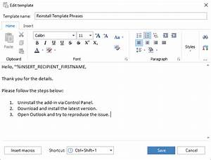 reply with template in outlook 2016 2013 2007 template With edit outlook email template