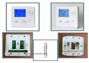 Manual Heating And Cooling Ac Wired Room Thermostat For