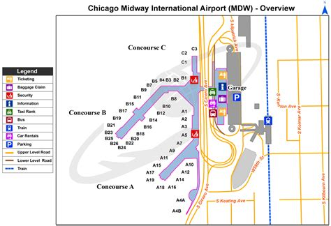 Chicago Midway Mdw International Airport Illinois