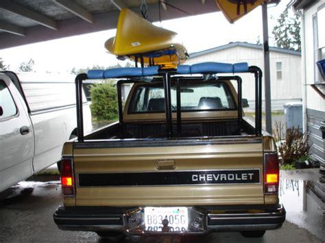 how to build a kayak rack for truck diy kayak truck rack