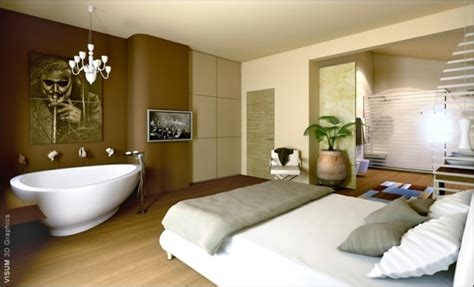 chambre baignoire la salle de bain ouverte une tendance qui s 39 affirme