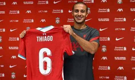 Thiago to Liverpool confirmed: Reds announce £25m transfer ...