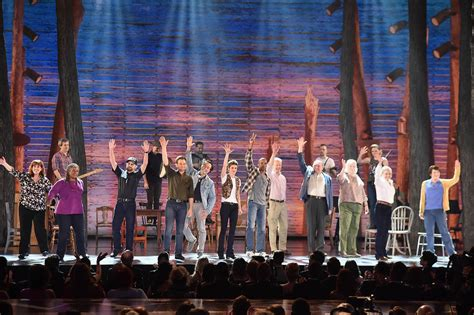 Come From Away almost won at the 2017 Tony Awards