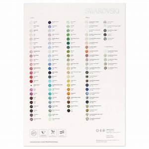Colour chart - SWAROVSKI ELEMENTS 2015 - Chatons ...