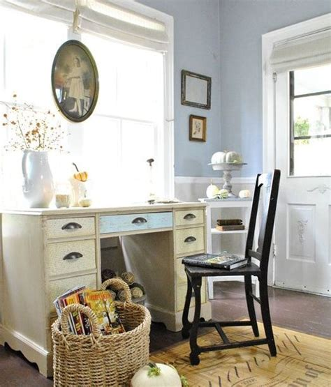 work in coziness 20 farmhouse home office d 233 cor ideas digsdigs