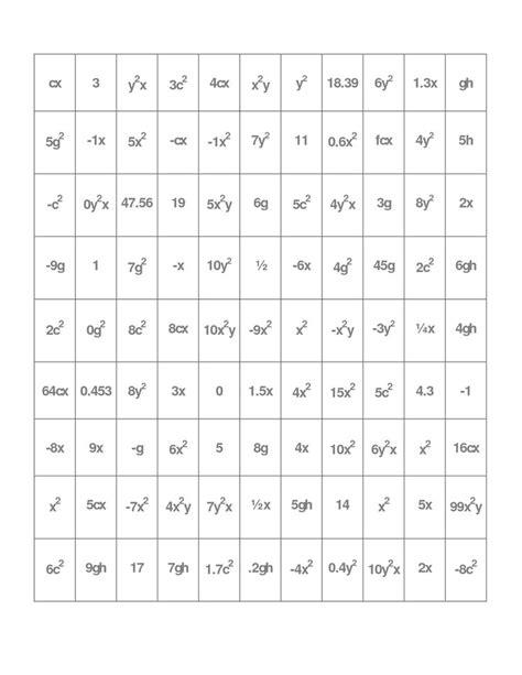 algebra tiles worksheet combining like terms algebra tiles worksheet combining like terms 7th grade