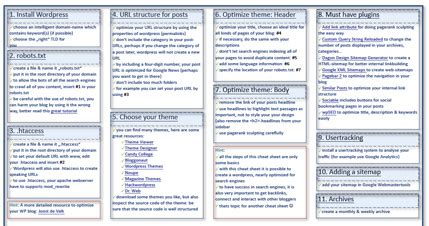 helpful cheat sheets  building wordpress themes